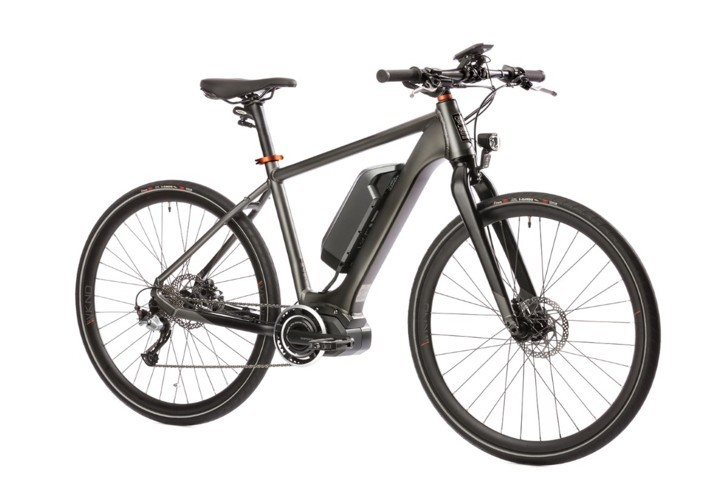 Opus WKND Steps Zinc Graphite E-Bike